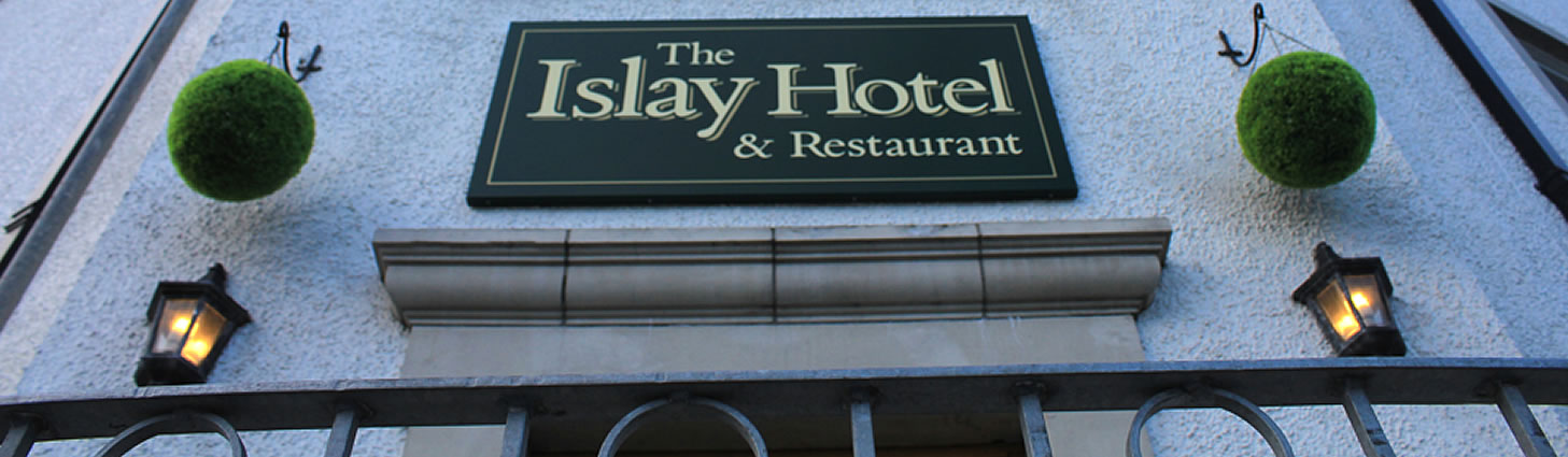 The Islay Hotel Entrance